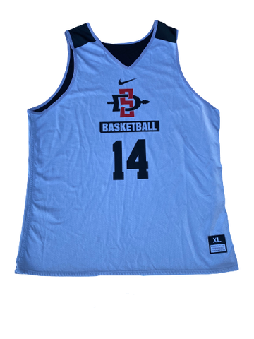 Zylan Cheatham San Diego State Reversible Practice Jersey (Size XL)