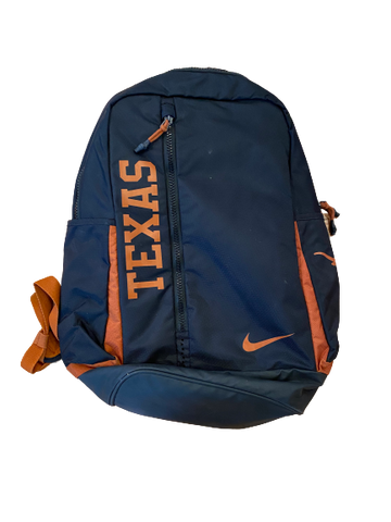 Tim Yoder Texas Football Team Issued Backpack