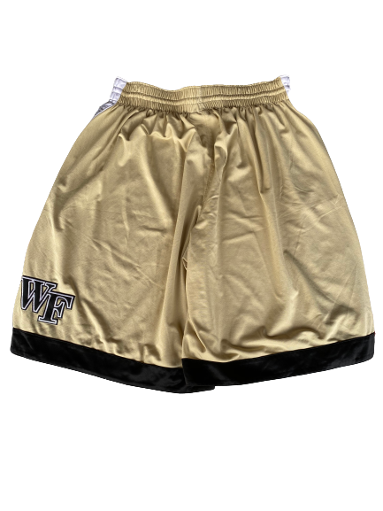 L.D. Williams Wake Forest Basketball Game Shorts (Size M)