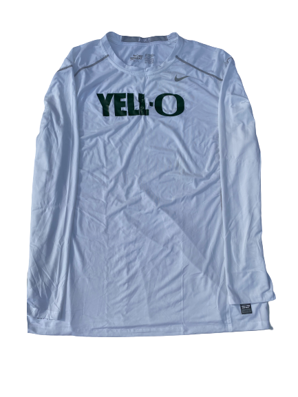"E.J. Singler Oregon Player Exclusive ""Yell-O"" Game Shooting Shirt (Size XXL Compression)"
