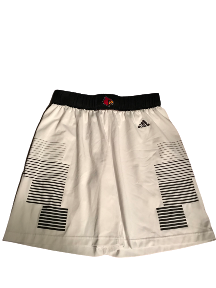 Jordan Nwora Louisville Game Worn Shorts (Size XL)