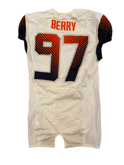 Brandon Berry Syracuse Football Game Worn Jersey
