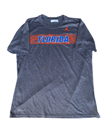 Nick Oelrich Florida Football Team Issued Workout Shirt (Size L)