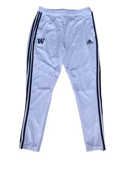 Nahziah Carter Washington Adidas Sweatpants (Size L)