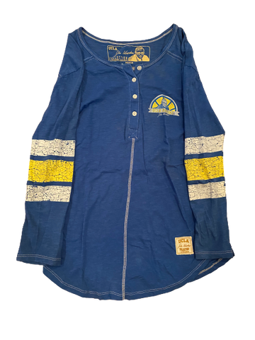"Lily Justine UCLA ""John Wooden Collection"" Long Sleeve Shirt (Size M)"