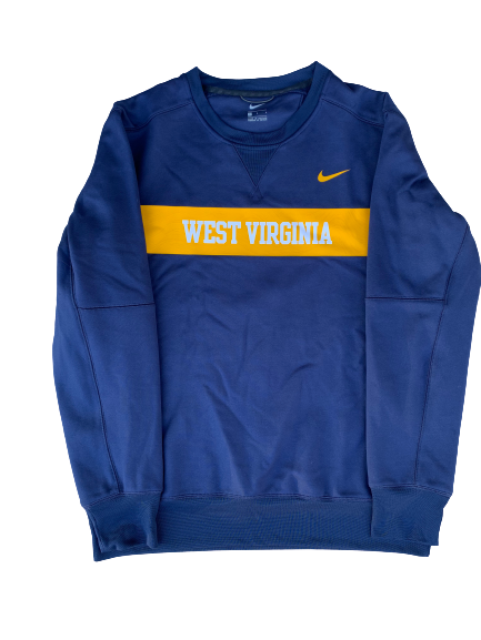 Chase Illig West Virginia Baseball Crew Neck Sweatshirt (Size L)