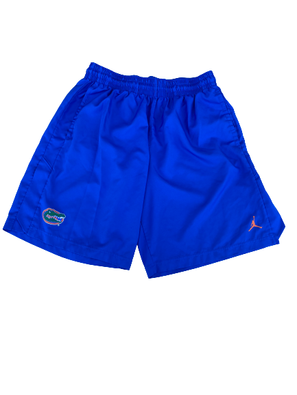 Scottie Lewis Florida Basketball Jordan Shorts (Size XL)