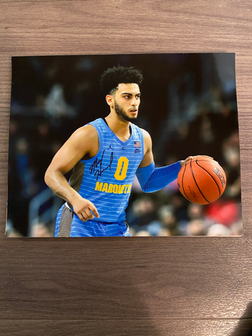 Markus Howard Autographed 8x10 Photo