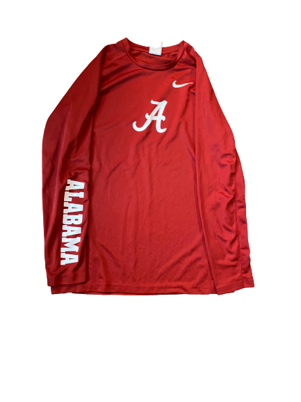 Hannah Cook Alabama Basketball Nike Pre-Game Shooting Shirt (Size L)