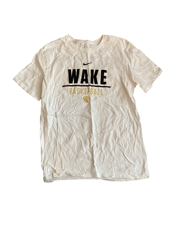 Torry Johnson Wake Forest Basketball Nike T-Shirt (Size M)