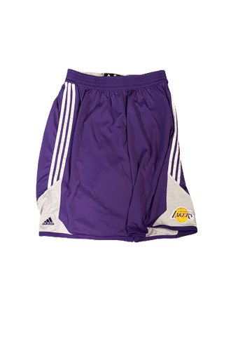 Chris Walker Los Angeles Lakers Team Issued Workout Shorts (Size XXXL)