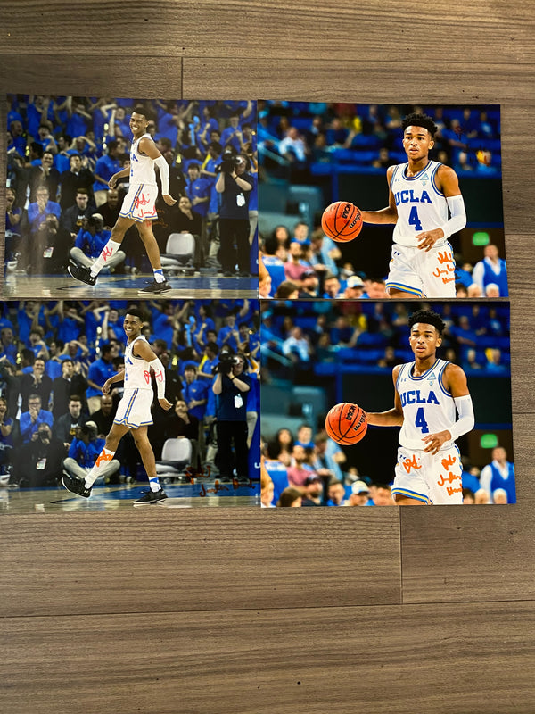 (4) Jaylen Hands Autographed 8x10 Photos
