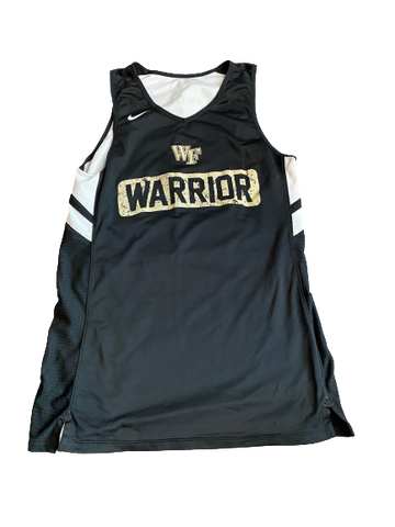 Torry Johnson Wake Forest Basketball Reversible Practice Jersey (Size LT)