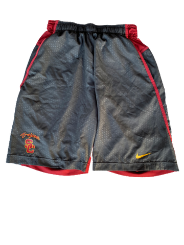 Austin Manning USC Team Issued Workout Shorts (Size M)