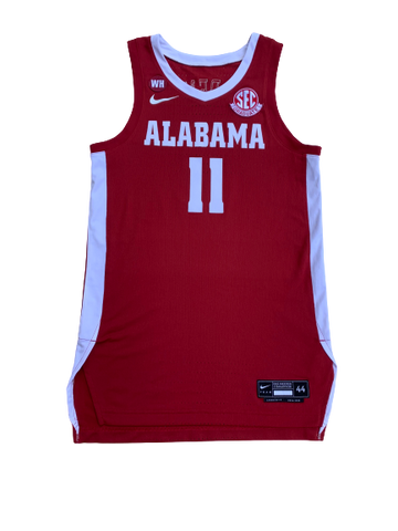 James Bolden Alabama Game Worn Jersey (Size 44)