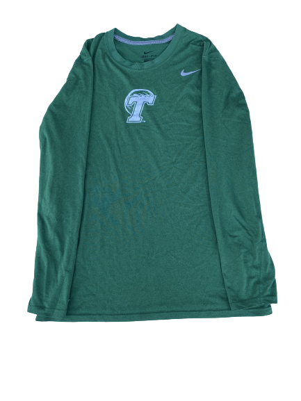 Sal Gozzo Tulane Team Issued Long Sleeve Shirt (Size L)