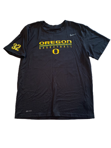 "Anthony Mathis NIKE Oregon Basketball ""TOUGH AND TOGETHER"" NIKE Dri-Fit T-Shirt"