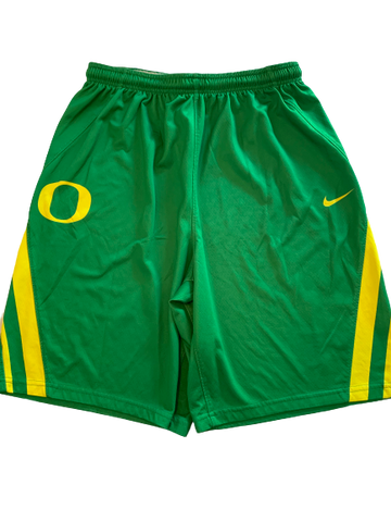 Anthony Mathis NIKE Oregon Basketball Practice Shorts