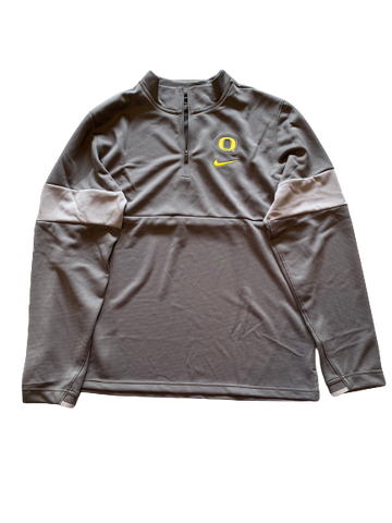 Anthony Mathis NIKE Oregon Quarter Zip Jacket