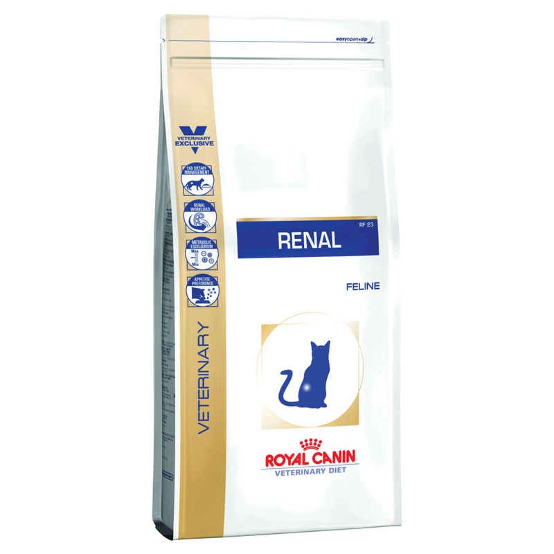 Royal Canin Feline Renal (2 KG) - Dry food for Renal and chronic kidney diseases