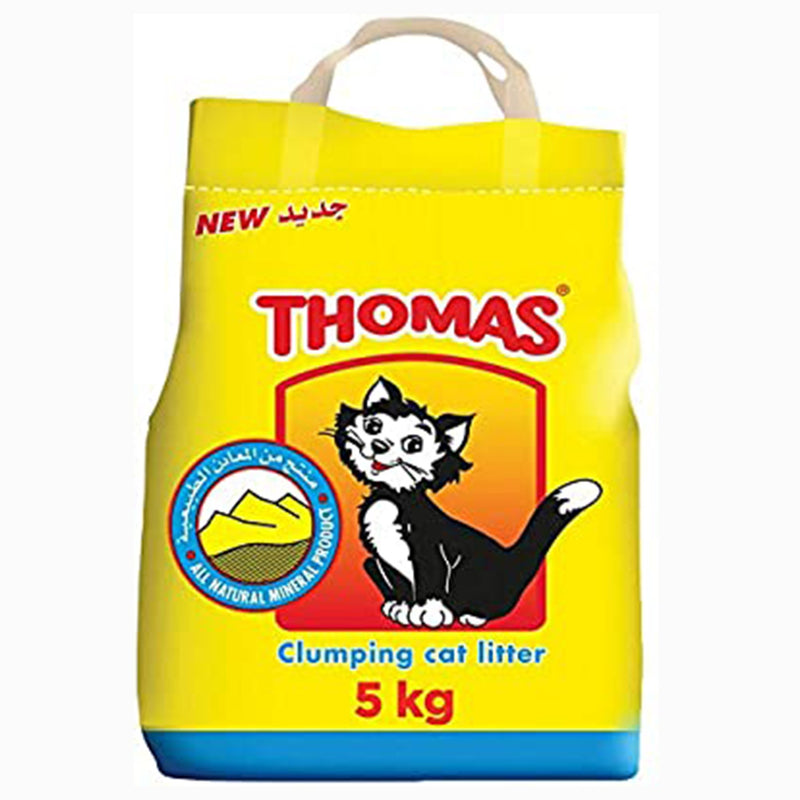 THOMAS Cat Litter 5kg - Amin Pet Shop