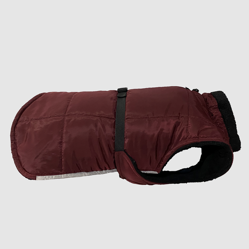 Burgundy Waterproof Coat