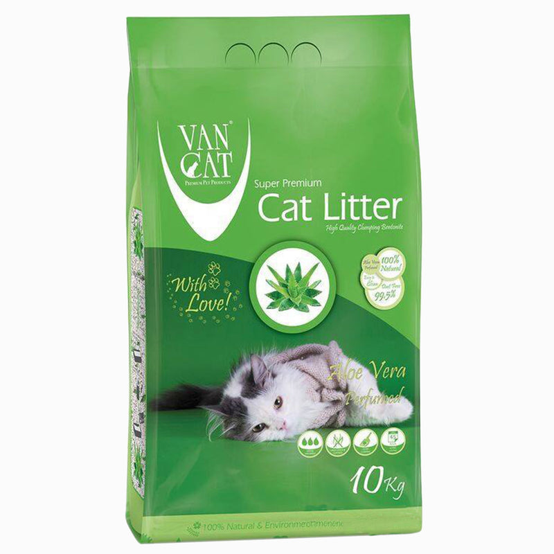 VanCat Cat Litter - Aloe Vera Scented 10kg - Amin Pet Shop