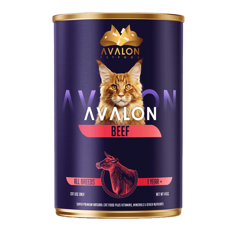 AVALON BEEF CATS 415g - Amin Pet Shop