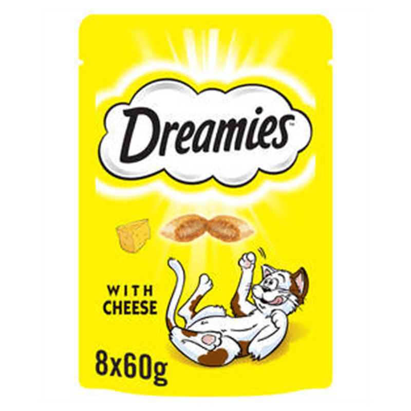 Dreamies Cat Treats with Cheese 60g - Amin Pet Shop