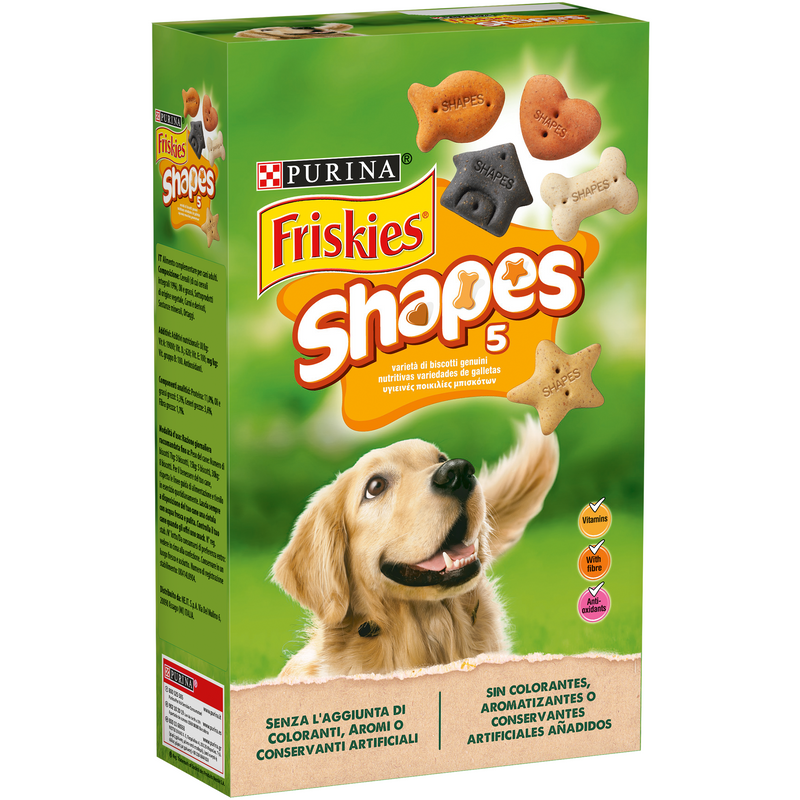 Friskies Shapes - Pets - Biscuits for dogs