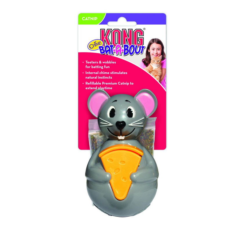 KONG® Bat-A-Bout Chime Mouse