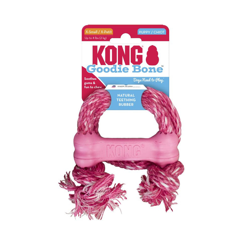 KONG®Puppy Goodie Bone™ with Rope