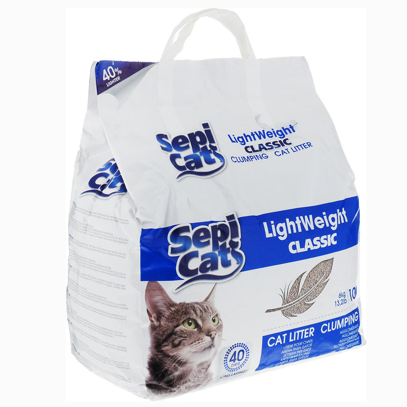 SepiCat Cat Litter - Light Weight Classic 10L - Amin Pet Shop