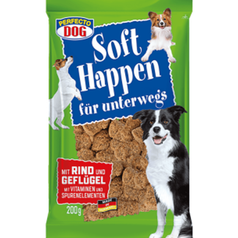 Perfecto Dog Soft Bites with Beef & Poultry 200g