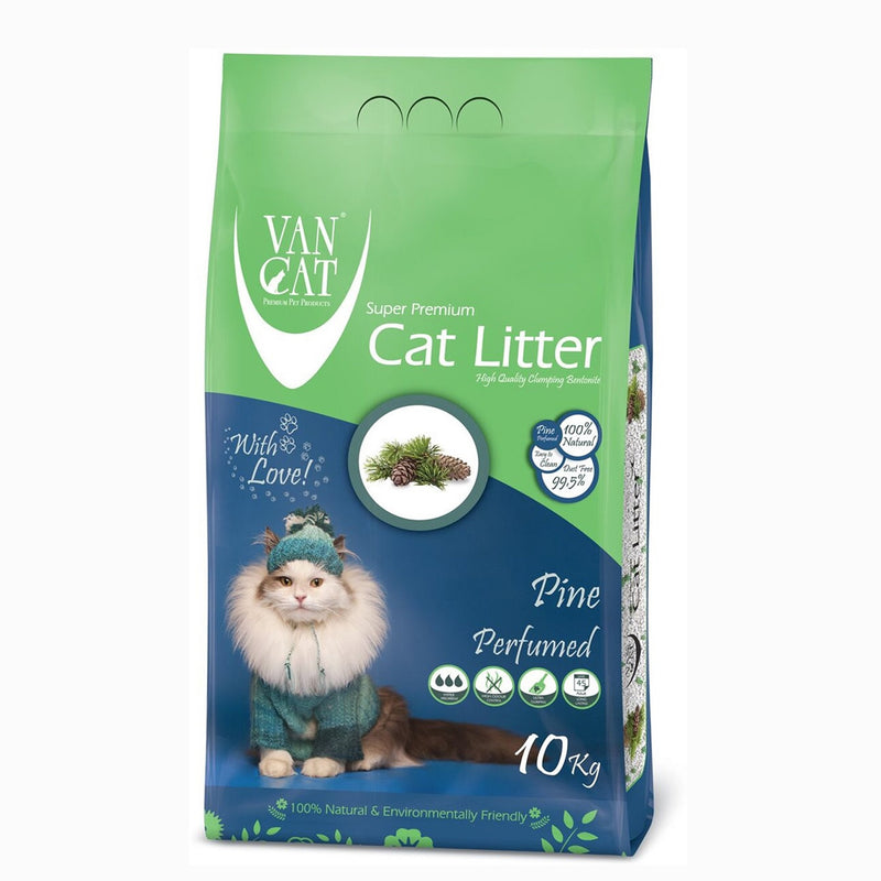 VanCat Cat Litter - Pine Scented 10kg - Amin Pet Shop
