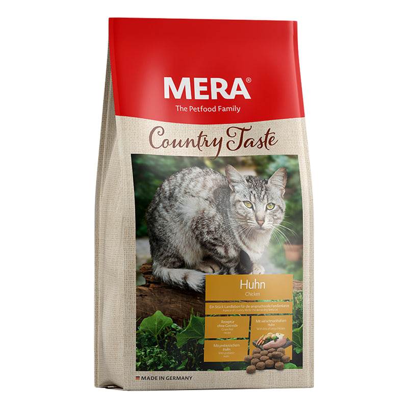 MERA Country Taste Chicken dry food for the family cat 400g - Amin Pet Shop