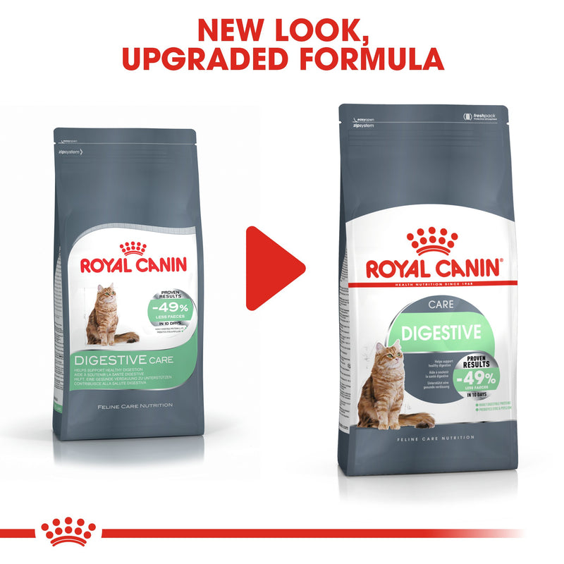 Royal Canin -Digestive care (2 KG) Dry food - Adult cats- help support healthy digestion - Amin Pet Shop