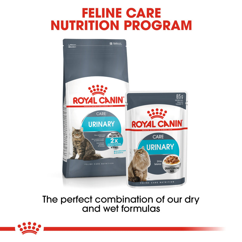 Royal Canin Urinary Care in Gravy (85gm\ Pouch) - Wet food for adult cats - Helps maintain urinary tract health - Amin Pet Shop