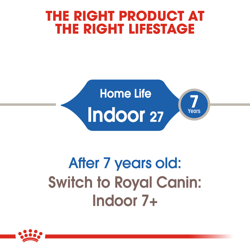 Royal Canin Indoor27 (4KG) - Dry food for indoor adult cats