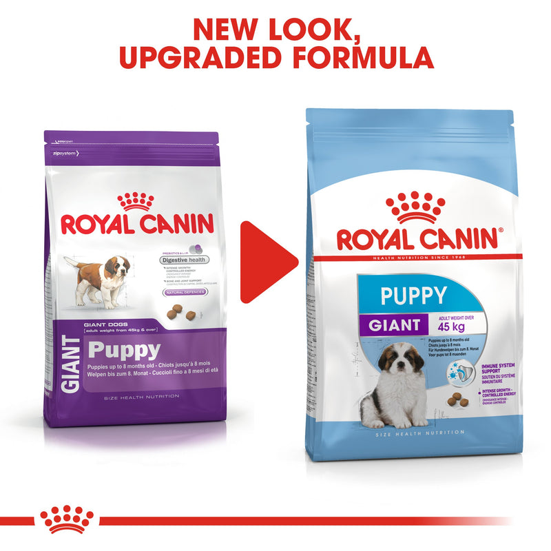 Royal Canin Giant Puppy (3.5 KG) - Dry food for giant dogs. Adult weight from 45 KG and over - from 2 to 8 months old - Amin Pet Shop