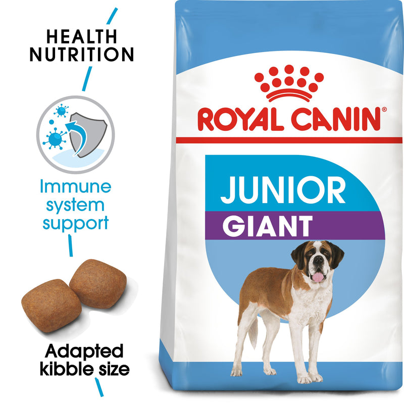 Royal Canin Giant Junior (3.5 KG) - Dry food for giant dogs - Adults weight from 45 KG and over - from 8 months to 18\24 months - Amin Pet Shop