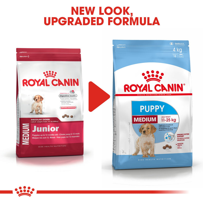 Royal Canin Medium Puppy (15KG) - Dry food for medium dogs - adult weight from 11 to 25 KG. from 2 to 12 months - Amin Pet Shop