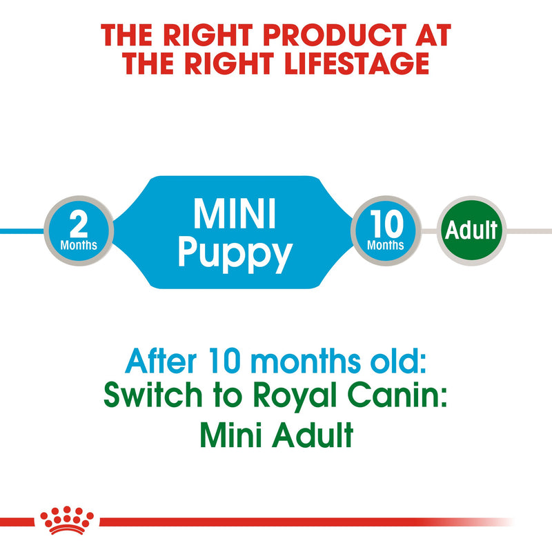 Royal Canin Mini Puppy in Gravy (85 gm\pouch) - wet food for small dogs - Adult weight up to 10 KG From 2 to 10 months old - Amin Pet Shop