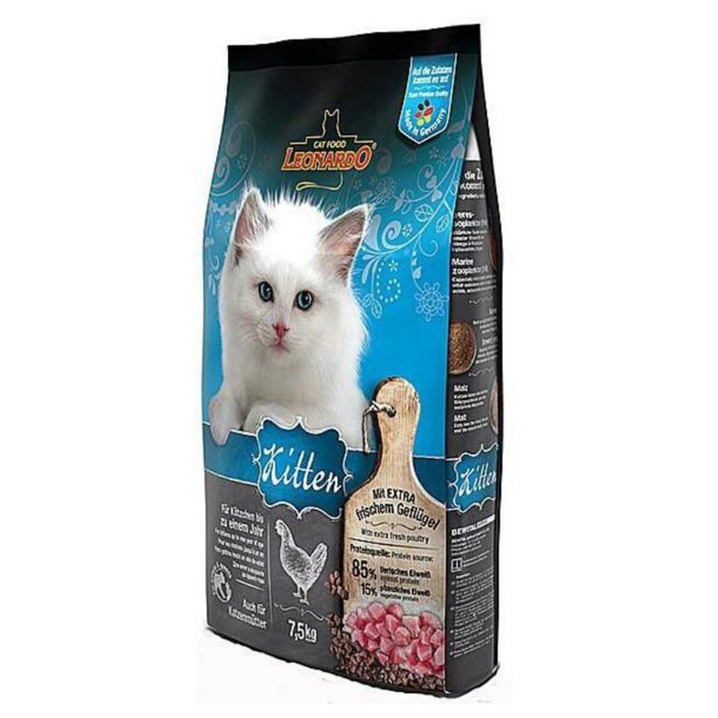 LEONARDO Chicken for kittens  7.5kg