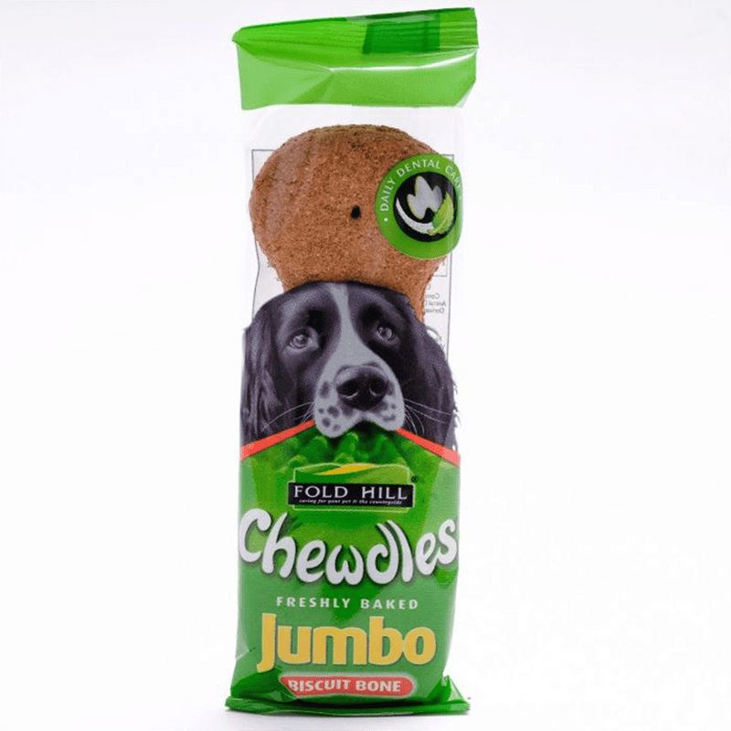 Chewdles Jumbo Biscuit Bone 110g - Amin Pet Shop
