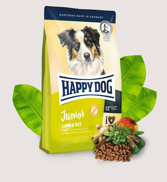 Happy Dog Junior Lamb & Rice - Dry dog food for puppies 10kg - Amin Pet Shop