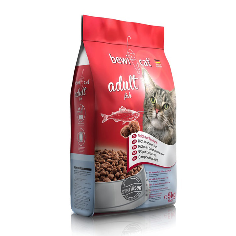 Bewi Cat Adult Fish 5kg - Amin Pet Shop