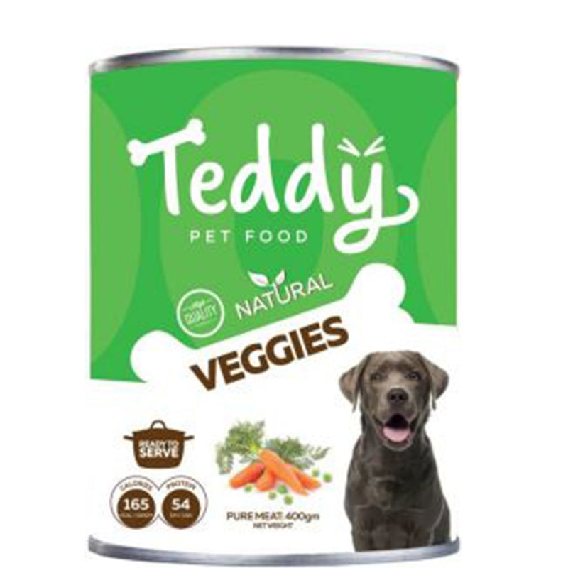 Teddy Natural Veggies - wet dog food 400g