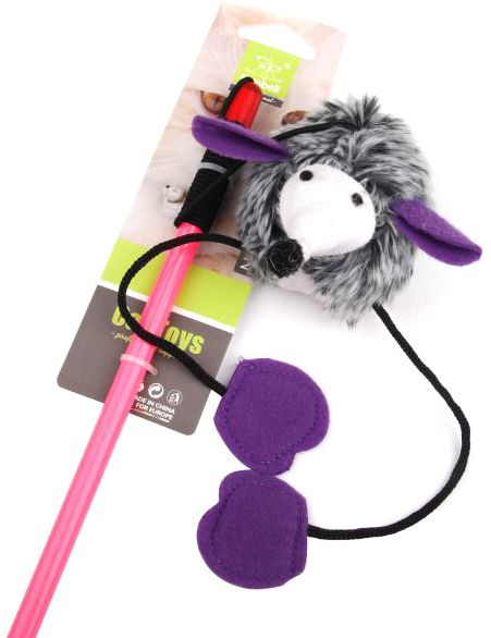 Nunbell  Cat Toy - Multi Color