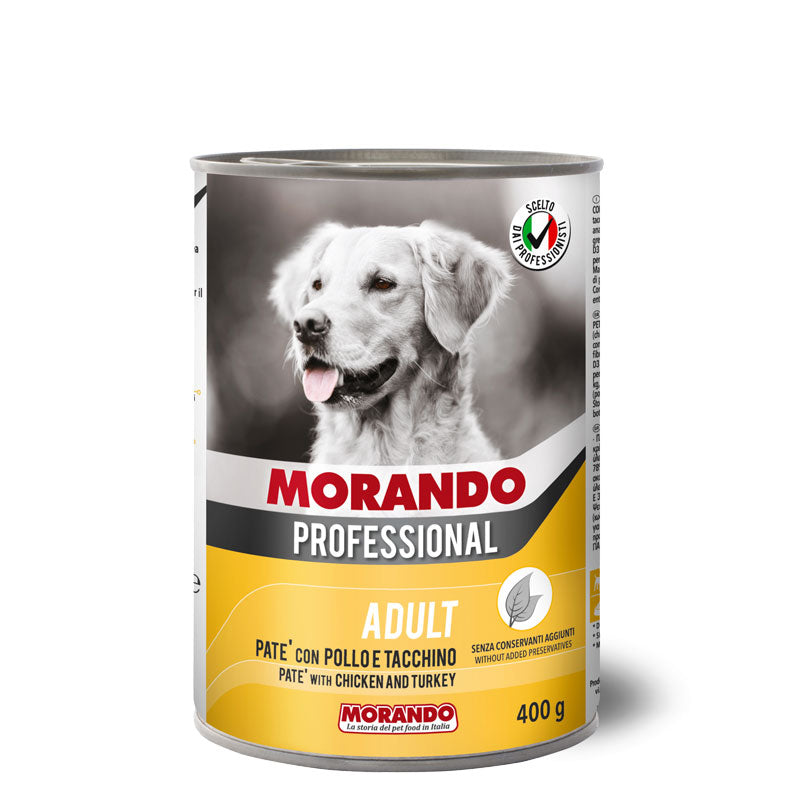 Morando Professional Dog  chunks with Chicken And Turkey 405g